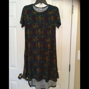 Lularoe XS Carly - Floral - Soft Leggings Fabric